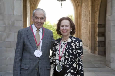 Judith Richter-Levy, AB '57, LL.B '59 and William Wingate