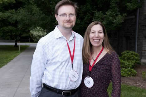 Paul Hanken and Rachel Black, JD '99